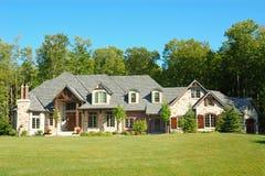 Großes Haus lizenzfreies stockfoto