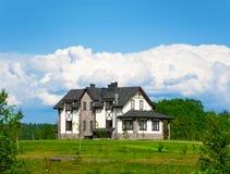 Großes Haus Lizenzfreie Stockfotos