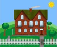 Großes Haus Lizenzfreie Stockbilder