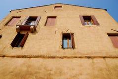Großes Haus von ArquàPetrarca Venetien Italien Lizenzfreies Stockbild