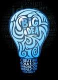 Großes Ideenkonzept Stockfotos