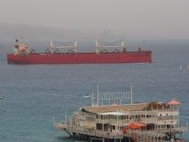 Großes industrielles Schiff Stockfoto