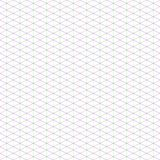 2:1 großes isometrisches Gitter für Pixel-Kunst Stockfotografie