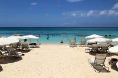 Großes Kaiman Marriott-Strandurlaubsort Stockbild