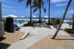 Großes Kaiman Marriott-Strandurlaubsort Lizenzfreie Stockfotos