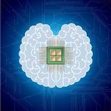 Großes kreatives Konzept des Entwurfes, Computernetzwerk lizenzfreie abbildung