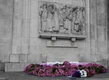 Großes Kriegdenkmal in Lille Stockbild