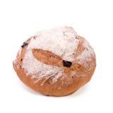 Großes Laib des französischen Brotes lokalisiert auf weißem Hintergrund Lizenzfreies Stockfoto