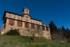 Großes Land-katalanisch-Haus Lizenzfreie Stockfotos