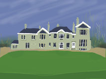 Großes Landhaus Lizenzfreie Stockbilder