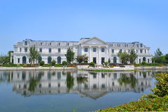Großes Landhaus Stockfotografie