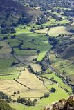 Großes langdale im Seebezirk England Stockfotos