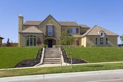 Großes luxuriöses Haus Stockfoto