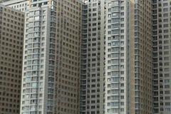 Großes mehrstöckiges Wohngebäude Lizenzfreie Stockfotos