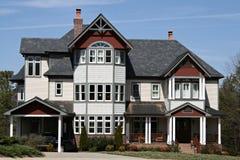Großes modernes Haus Lizenzfreies Stockfoto