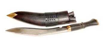 Großes Nepal-Messer Stockfotos