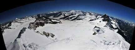 Großes Panorama lizenzfreies stockbild