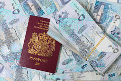 Großes Qatar-Geldabkommen Lizenzfreies Stockbild