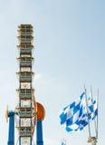 Großes Rad beim Oktoberfest in München Lizenzfreie Stockfotos