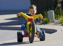 Großes Rad-Junge Lizenzfreies Stockbild