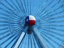 Großes Rad mit Texas Button Lizenzfreies Stockbild