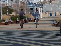 Großes Rad-Reiter Stockbilder