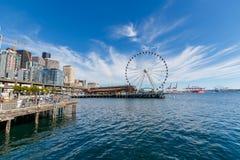Großes Rad Seattles stockbilder