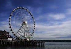 Großes Rad Seattles einjährig Lizenzfreie Stockfotografie