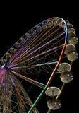 Großes Riesenrad mit Nachtzeit, in Essen, Deutschland Lizenzfreies Stockbild