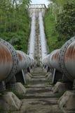 Großes Rohr, den Fluss anschließen, Version 2 Lizenzfreie Stockfotografie