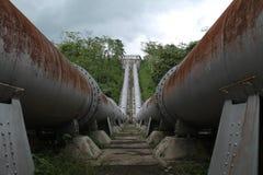 Großes Rohr, den Fluss anschließen, Version 3 Stockbilder