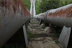 Großes Rohr, den Fluss anschließen, Version 6 Stockbilder