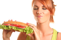 Großes Sandwich stockbilder