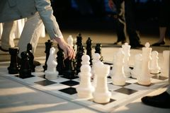 Großes Schach Lizenzfreies Stockbild
