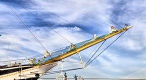 Großes Segelschiff Stockbild