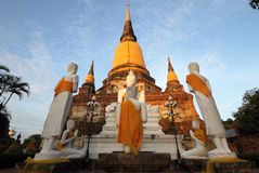 Großes stupa Lizenzfreies Stockbild