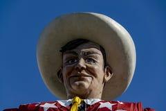 Großes Tex am Jahrmarkt von Texas Lizenzfreie Stockfotografie