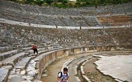 Großes Theater in alter Stadt Ephesus Lizenzfreie Stockfotografie
