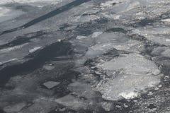Großes tiefes Eis Stockfotos