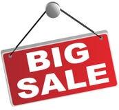 Großes Verkaufs-Zeichen Lizenzfreie Stockfotos