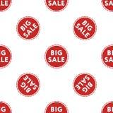 Großes Verkaufsrabattmuster auf weißer Hintergrundisolierung Lizenzfreie Stockfotografie