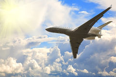 Großes Verkehrsflugzeug lizenzfreies stockfoto