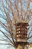 Großes Vogelhaus Stockfotos