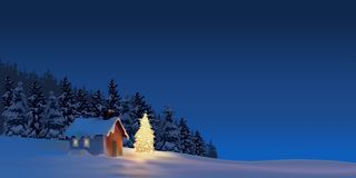 Großes Weihnachten vektor abbildung