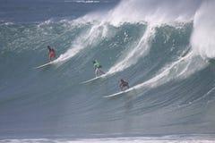 Großes Wellen-Ereignis 2009 Quecksilber-Eddie-Aikau Stockbilder