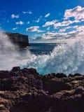 Großes Wellenbrechen Stockfoto