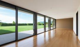 Großes Wohnzimmer Stockfoto