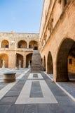 Großmeister-Palast in Rhodos, Griechenland Lizenzfreies Stockfoto