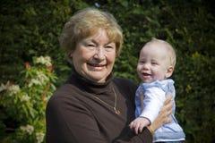 Großmutter stockfoto
