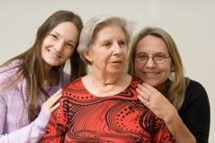 Großmutter-Richtlinien Stockbild